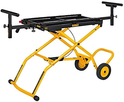 Read more about the article DEWALT Miter Saw Stand With Wheels (DWX726) , Yellow