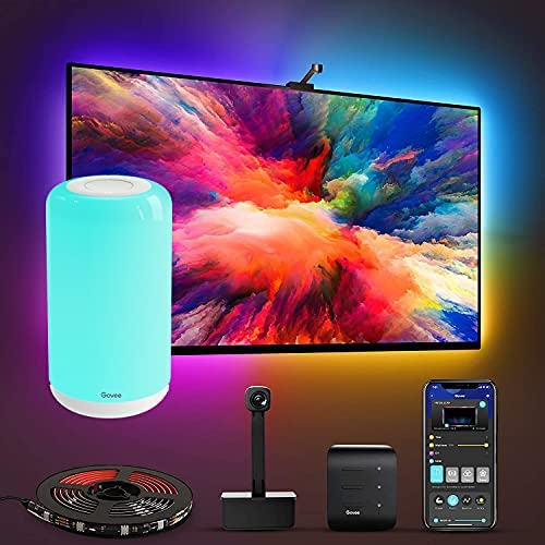 Read more about the article Govee Immersion WiFi TV LED Backlights Bundle with Govee Smart Table Lamp, Works with Alexa & Google Assistant, App Control, Lights and Music Sync, Adapter