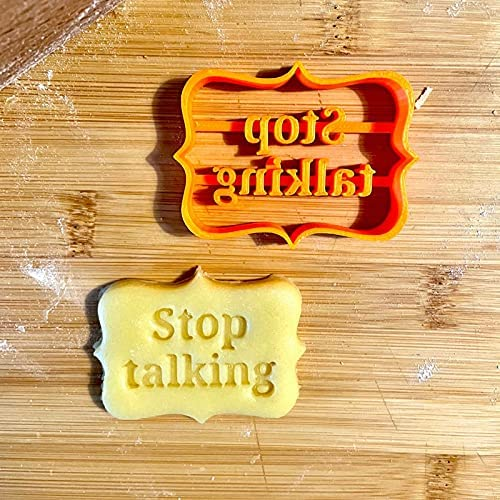 Read more about the article Shellee Cookie Cutters Shapes Baking Set,Cookie Molds With Rude Sayings Cuss Words, Cookie Cutters Form with Fun and Irreverent Phrases, Cookie Molds with Mean Words,Cookie Molds with Good Wishes (B)