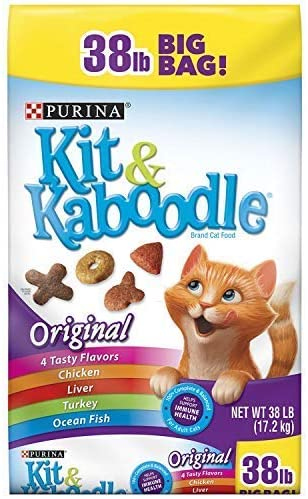 Read more about the article Purina Kit & Kaboodle Original Adult Dry Cat Food