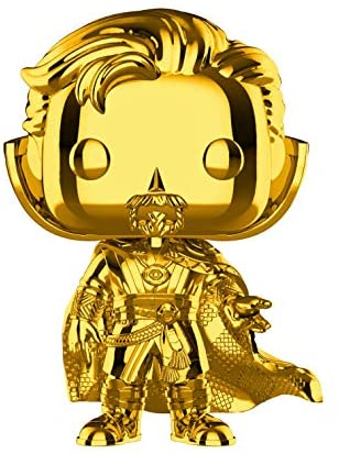 Read more about the article Funko Pop! Marvel: Studios 10 – Doctor Strange (Chrome) Toy, Standard, Multicolor