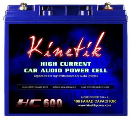 Read more about the article Kinetik (HC600-BLU) Black Power Cell Battery
