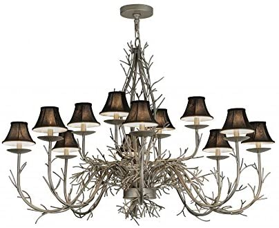 Read more about the article Meyda Tiffany 147591 Twigs 12 Light Chandelier, 50″ W