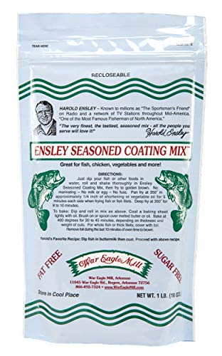 Read more about the article War Eagle Mill Ensley Fish Fry Batter Coating Mix in resealable bag (1 Lb)
