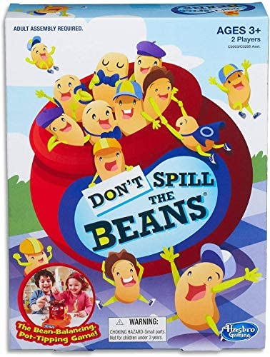 Read more about the article Hasbro Gaming Don't Spill The Beans Game,Brown/a