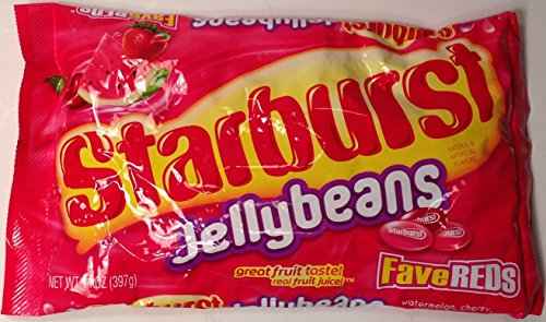 Read more about the article Starburst Jelly Beans – Fave Reds – Watermelon, Cherry, & Strawberry – Net Wt. 14 OZ (397 g) Each – Pack of 2
