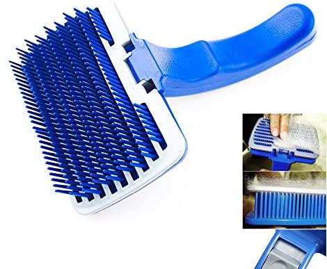 Read more about the article New Pet Dog Cat Grooming Self Cleaning Slicker Brush Comb Shedding Tool Hair Fur by Pet Brushes