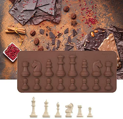 Read more about the article Silicone Chocolate mould International Chess Shapes Chocolate Cake Ice Fondant mould Mould Baking for DIY Candy Cake Topper Decoration