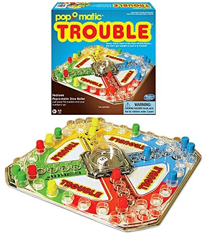 Read more about the article Winning Moves Games Classic Trouble Board Game, 1176