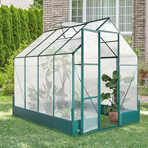 Read more about the article Plant Greenhouse Polycarbonate House with Window/Doors Indoor Gardening Greenhouses Gardening Supplies Gardening Greenhouse Supplies Greenhouses & Accessories Garden kit