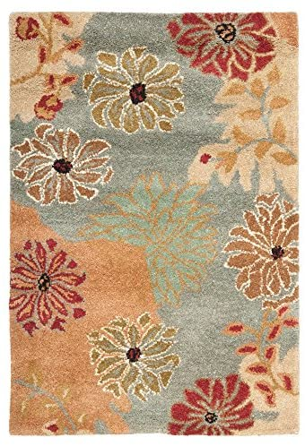 Read more about the article Safavieh Metro Collection MET990A Handmade Floral Premium Wool Area Rug, 12′ x 15′, Multi