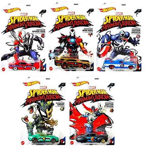 Read more about the article Venomized Exclusive Marvel Maximum Venom Series Bundled with Captain America / Spider-Man / Iron Man / Doctor Strange / Groot 5 Items