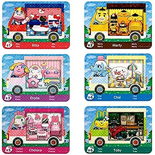 Read more about the article 6 Pack Sanrio NFC Tag Game Cards, Collaboration Pack for Animal Crossing, Fully Compatible with Switch/Switch Lite/New 3DS (Mini Size)