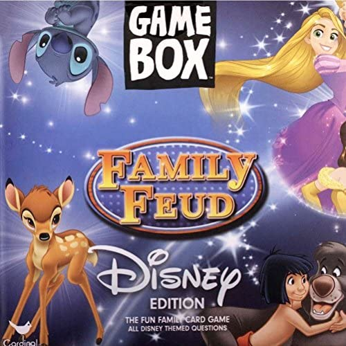 Read more about the article Cardinal Disney Family Feud Game Box, Multicolor