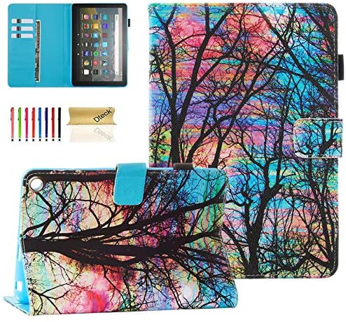 Read more about the article Dteck Case for (10th Generation, 2020 Release) All-New Fire HD 8 /Fire HD 8 Plus Tablet – Leather Protective Smart Stand Wallet Slim Folio Pretty Cover with Auto Wake Sleep/Stylus Pen (Color Sky)