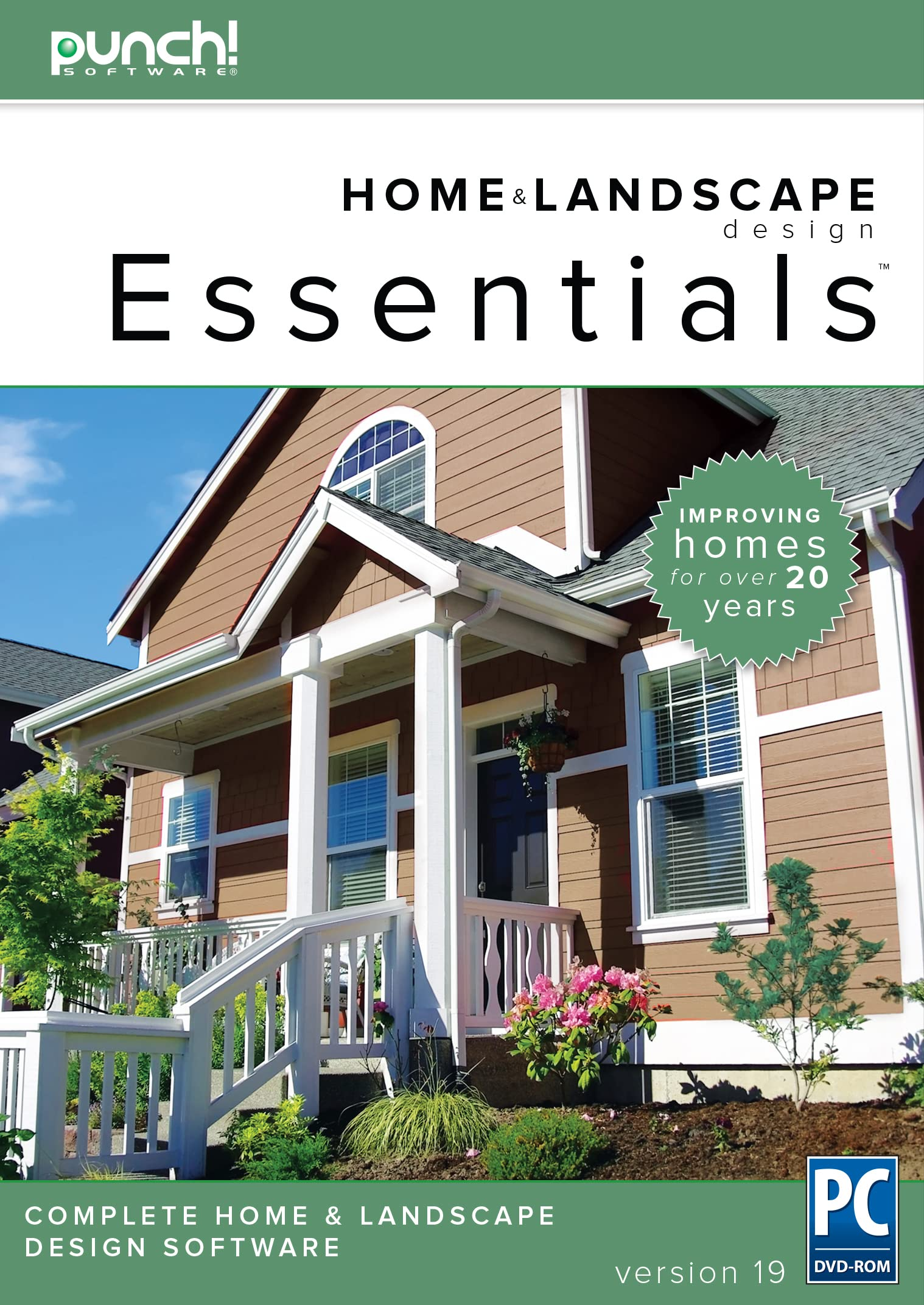 Read more about the article Punch! Home & Landscape Design Essentials v19 for Windows PC [Download]