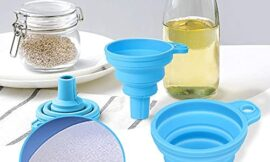 Silicone Collapsible Funnel Kitchen Gadgets Foldable Funnel for Water Bottle Liquid Transfer