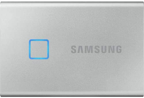 Read more about the article SAMSUNG T7 Touch MU-PC1T0S 1 TB Portable Solid Drive – USB 3.2 – Silver (Renewed)