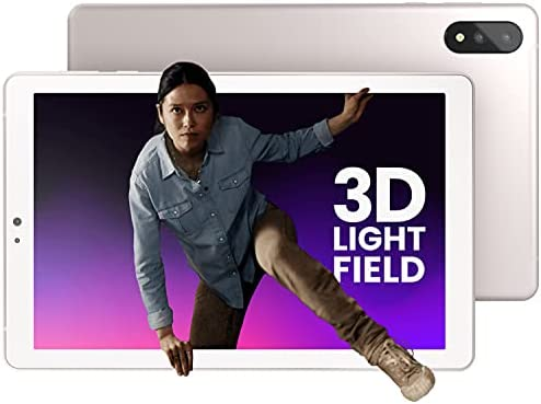 """Read more about the article Lume Pad Tablet – 3D Tablet – 10.8"""" 3D Tab Light Field Screen – Android Tablet – 128gb Work Tablet/Tablet for Gaming – 2560 x 1600 Tablet Android 10 with 16MP Dual Camera [Champagne Beige]"""