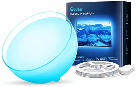 Read more about the article Govee Ambient Portable Smart Light, LED Dimmable Bluetooth Table Lamp Bundle with Govee TV Backlights, 10FT LED Lights for TV Work with Alexa, Google Assistant and APP, Music Sync