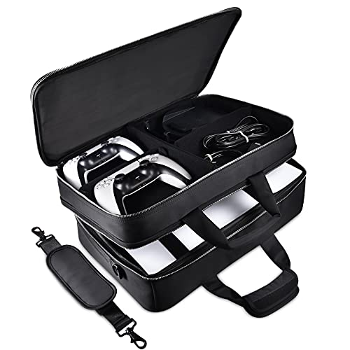 Read more about the article Diocall Travel Case Compatible with PS5, Protective Carry Bag for Playstation 5, DualSense Wireless Controller and Accessories