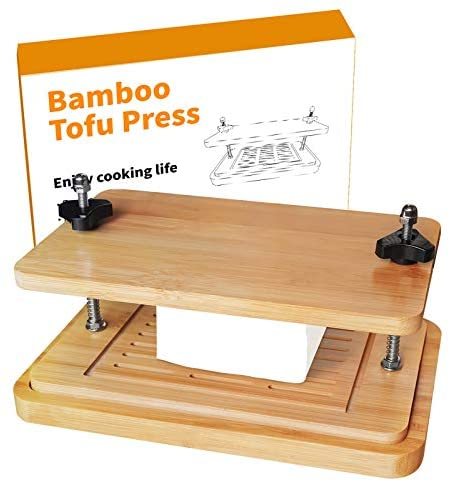 Read more about the article SERIJUTT Bamboo Tofu Press with Drip Tray- Easily Remove Water from Tofu for Better Taste and Flavor