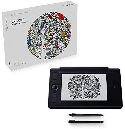 Read more about the article Wacom PTH660P Intuos Pro Paper Edition Digital Graphic Drawing Tablet for Mac or PC, Medium, New Model