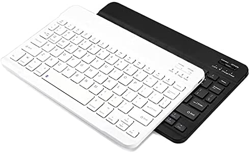 Read more about the article Bluetooth Keyboard, Ultra-Slim Rechargeable Wireless Bluetooth Keyboard for iOS, Android, Windows, and Mac Compatible with iPad, iPad Pro, iPhone, Android Samsung Galaxy Tablets (White)