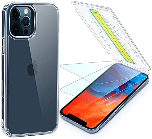 Read more about the article Foval for iPhone 13 Pro Max Screen Protector (2Pack) with Clear Case (1Pack), [Eye-closed Installation][Bubble Free] Tempered Glass with Shockproof Phone Cover Compatible with Magsafe Charging