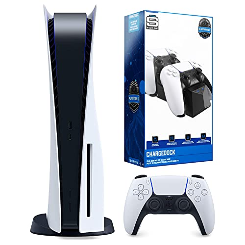 Read more about the article Sony Playstation 5 Disc Version Console with Dual Charging Dock Station Bundle