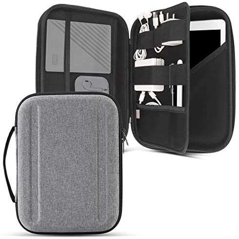 Read more about the article Portfolio Case for 10.9 iPad Air 4/iPad Pro 11 /iPad 10.2/10.5 iPad Air, Protective Sleeve for iPad Pro 11, iPad Carrying Case with Accessory Organizer for Cables, Adapter, iPad Pencil, Hubs