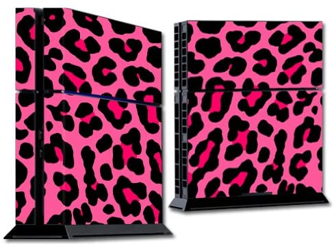 Read more about the article MightySkins Skin Compatible with Sony PS4 Console – Pink Leopard | Protective, Durable, and Unique Vinyl Decal wrap Cover | Easy to Apply, Remove, and Change Styles | Made in The USA