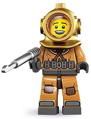 Read more about the article LEGO Diver 8833 Series 8 Minifigure