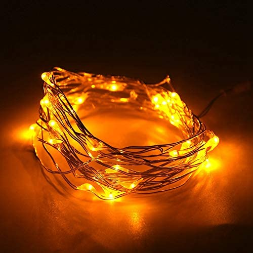 Read more about the article RBSD LED String Light, Low Power Consumption String Light Ornament, Small in Size for Family Parties Christmas Parties Shopping Mall Decoration Corporate Parties(Yellow)