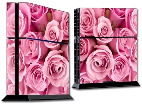 Read more about the article MightySkins Skin Compatible with Sony PS4 Console – Pink Roses | Protective, Durable, and Unique Vinyl Decal wrap Cover | Easy to Apply, Remove, and Change Styles | Made in The USA