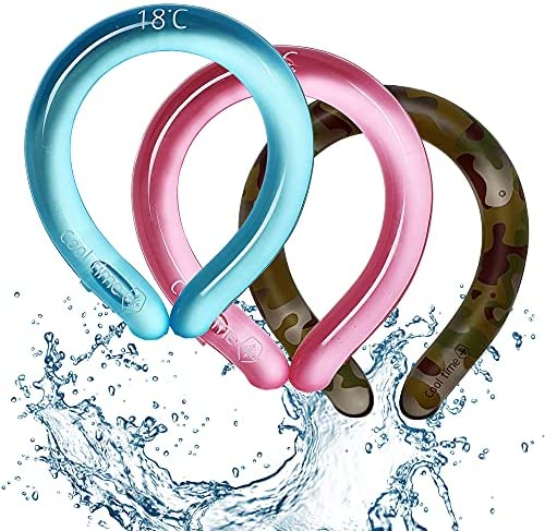 Read more about the article Neck Cooling Tube (Pink, 1) | Wearable Cooling Neck Wraps for Summer Heat I Hands free Cold Gel Ice Pack | Reusable Neck Cooler | Relief for Hot Flashes and Fever