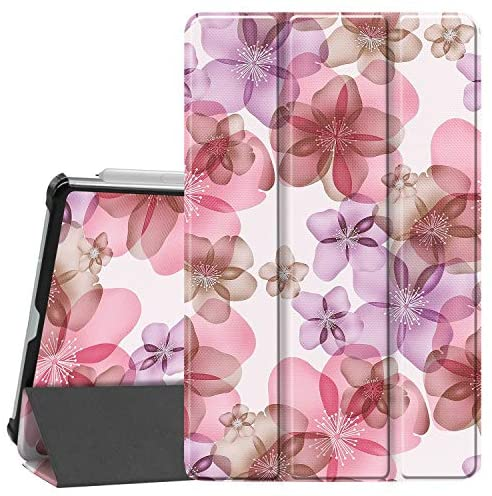 Read more about the article Gylint Samsung Galaxy Tab S6 Lite Case, Smart Case Trifold Stand Slim Lightweight Case Cover with Auto Sleep/Wake for Samsung Galaxy Tab S6 Lite 10.4 Inches SM-P610 (Wi-Fi); SM-P615 (LTE) Flower