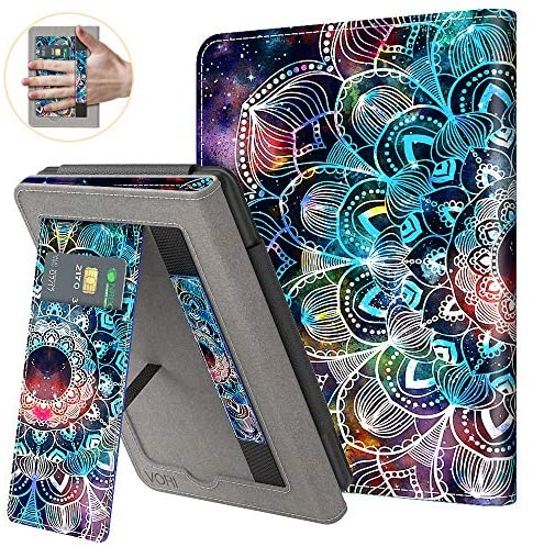 Read more about the article VORI Stand Case for Kindle Paperwhite (Fits All-New 10th Generation 2018 / All Paperwhite Generations) PU Leather Case Smart Protective Cover with Auto-wake/sleep and Hand Strap, Mandalas Galaxy