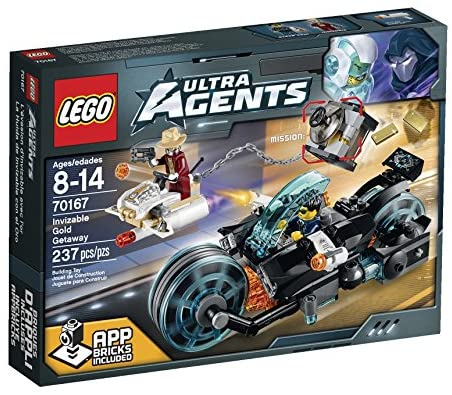 Read more about the article LEGO Ultra Agents Invizable Gold Getaway Toy