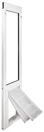 Read more about the article Endura Flap Severe Weather Vinyl Sliding Glass Dog Door (4 Sizes: S, M, L, XL in Height ranges from 74.75″ – 80.25″)