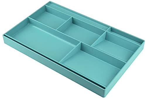 Read more about the article Acrimet Drawer Organizer Bin Multi-Purpose Storage for Desk Supplies and Accessories (Plastic) (Solid Green Color)
