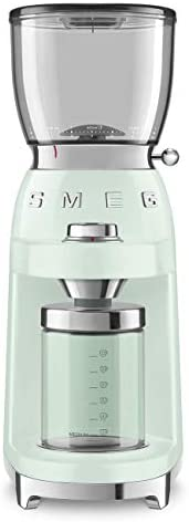Read more about the article Smeg 50's Retro Style Aesthetic Coffee Grinder, CGF01 (Pastel Green)
