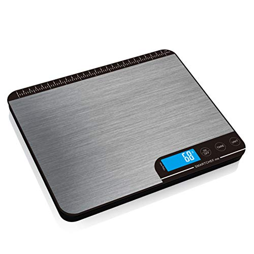 Read more about the article reflex 15kg / 33lb digital smart food kitchen baking postal Scale, grams and ounces, waterproof, USB rechargeable, wireless, accurate, metal stainless steel surface, nutritional keto calculator, wireless, free mobile apps