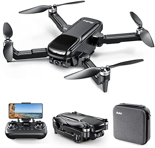 Read more about the article Ruko U11Pro Portable Drone with 4K Camera for Adults, 5G FPV GPS Drone for Beginners with Live Video, Brushless Motor, Auto Return, Follow Me, Circle Fly, RC Quadcopter
