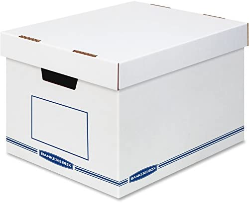 Read more about the article Bankers Box Reinforced, Sturdy Organizers X-Large 12/Ctn (FEL4662401)