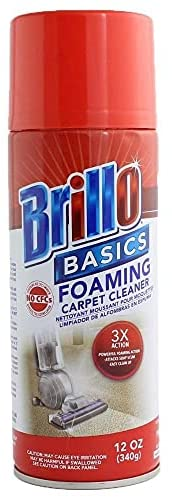 Read more about the article Brillo Basics Foaming Carpet Cleaner 12 Oz