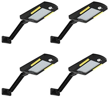 Read more about the article Solar Lights Outdoor, KUFUNG 48 Led Lamp, Wireless Waterproof Solar Flood Light, Security Motion Sensor Light Outdoor Luces Solares for Deck, Fence, Patio, Front Door, Gutter, Yard, Shed, Path(4 Pack)