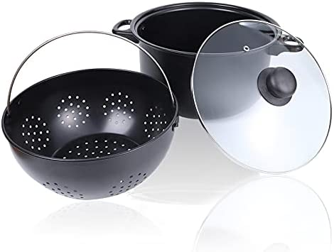 Read more about the article OitiO 6QT Pasta Pot, Nonstick Spaghetti Pot with Strain Basket, Perfect for Cooking Noodles