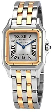 Read more about the article Cartier Panthere Silver Dial Ladies Watch W2PN0007