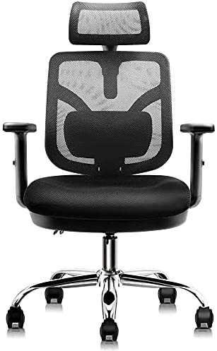 Read more about the article HARBLAND Ergonomic Office Chair, Home Office Desk Chair High Back Chair with Adjustable Headrest Backrest Armrest for Home Office Computer Desk
